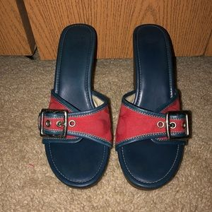 Coach Terry Wedge Sandals
